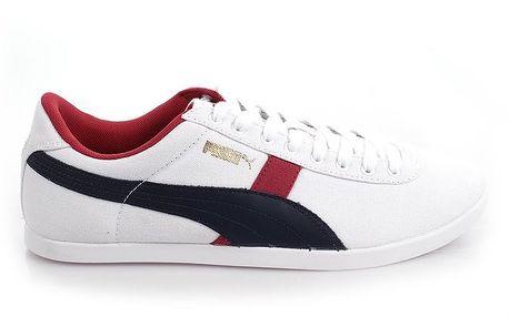 Pánské bílé tenisky s barevnými prvky Puma