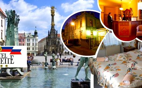 Víkendový pobyt pro dva na 3 dny v luxusním 4* hotelu Lafayette v Olomouci. V ceně bohaté snídaně a konzumace v restauraci. Odpočiňte si v metropoli hanáckého regionu s mnoha netradičními památkami a zajímavostmi v okolí!