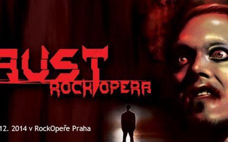 Faust - premiéra v RockOpeře Praha - limitované množství vstupenek