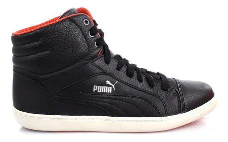 Dámské černé kotníčkové boty Puma