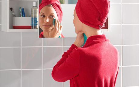 Ručníkový turban pro rychlé sušené vlasů