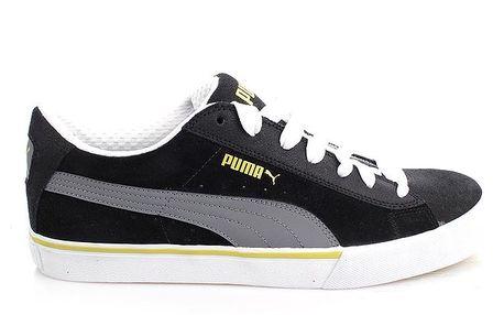 Pánské černo-šedé tenisky Puma