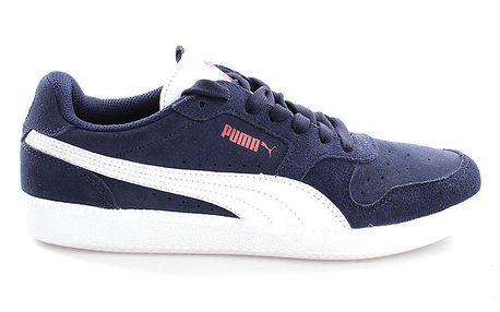 Pánské semišové modro-bílé tenisky Puma