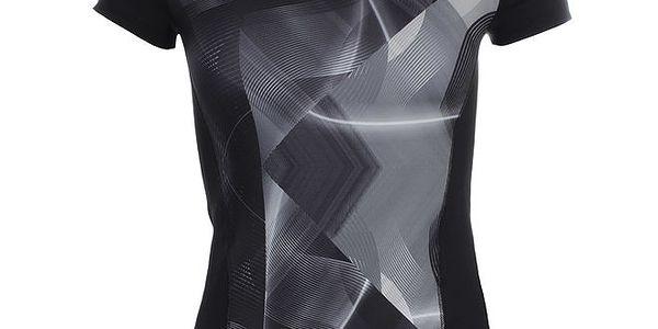 Dámské vzorované fitness tričko Puma