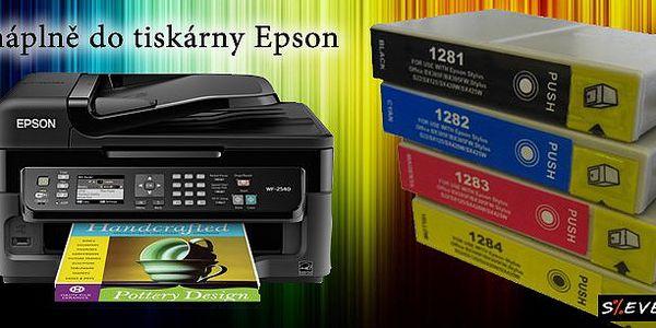 Kompatibilní náplně do tiskárny Epson (až 12 ks) s dopravou zdarma! Jasné barvy, kvalitní inkoust a speciální čip uvnitř každého balení pro bezproblémový chod Vaší tiskárny! Tiskněte levně!
