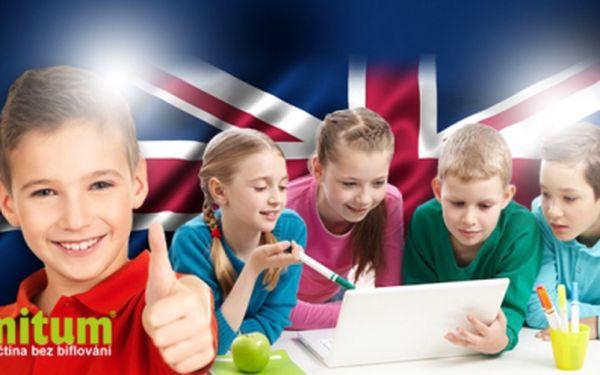 ANGLIČTINA PRO DĚTI! Online KURZ NAMLUVENÝ RODILÝMI MLUVČÍMI podpoří slovní zásobu i výslovnost!