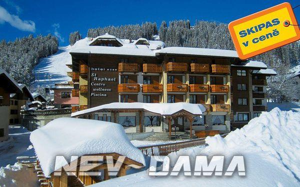 Hotel Sant Raphael, Madonna di Campiglio - Pinzolo, Itálie, vlastní doprava, polopenze