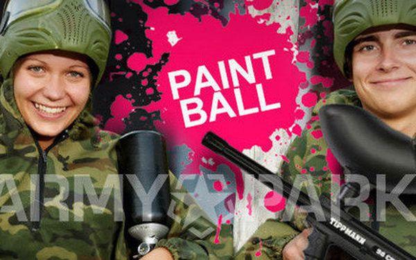 Zábavná střílečka v největší paintball aréně v ČR