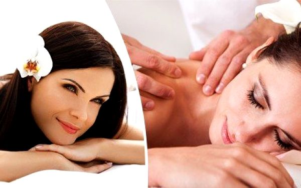 Relaxační masáž se zábalem