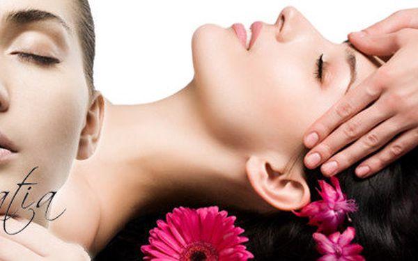 90minutový balíček celkové hloubkové kosmetické péče s masáží
