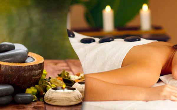 60minutová masáž lávovými kameny a pomerančovým olejem. Dopřejte si relax!