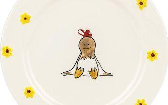 SLEPICE Talíř desertní 19 cm