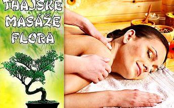 Hodinová tradiční thajská masáž se slevou 50 %