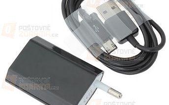 USB datový a nabíjecí kabel s micro USB konektorem - 1 m a poštovné ZDARMA s dodáním do 3 dnů! - 9999915706