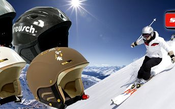 Kvalitní německé přilby Reusch na lyže i snoubič
