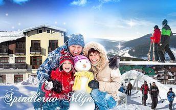 4 nebo 5 DNÍ ve Špindlerově Mlýně pro dva nebo celou rodinu, v baby-friendly penzionu Borůvka!