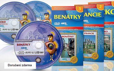Sada 20 cestopisných filmů na DVD – doručení zdarma