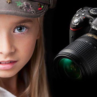 Ovládání digitální zrcadlovky + základy focení portrétu 4.1. (možnost dárk. poukazu)