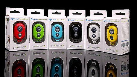 Bluetooth dálkový spouštěč pro telefony + DÁREK teleskopický Selfie držák