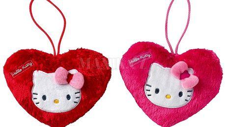 Plyšové srdíčko Hello Kitty