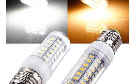 6 W LED žárovka s 56 LED diodami - 2 barvy světla (patice E27)
