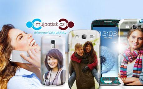 Originální KRYT na iPHONE či SAMSUNG a tablet nebo IPAD z vlastní fotografie!
