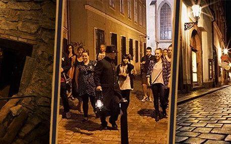Pražské pověsti a podzemí staré Prahy - 2hodinová procházka