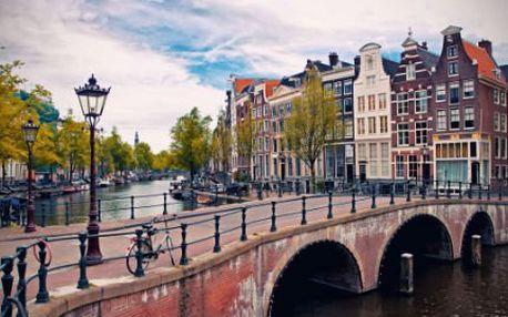 4 nebo 5 dní v Amsterdamu a kvetoucích zahradách Keukenhof, několik termínů