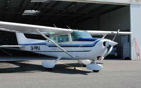 Pilotem na zkoušku: Cessna na 25 minut