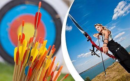 Zážitková sportovní lukostřelba pro dospělé a děti od 12 let