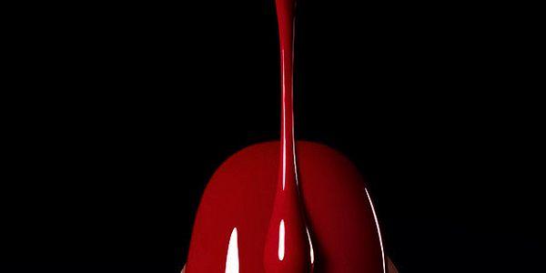 Gel lak ONE STEP na nehty č.19 Krvavě červený 10ml