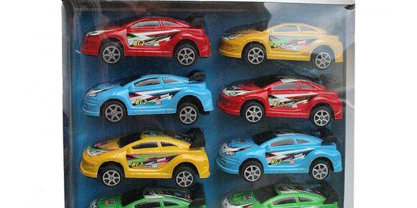 Sada 8 závodních autíček!
