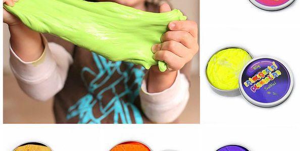 Inteligentní plastelína - nikdy nekončící zábava pro děti!