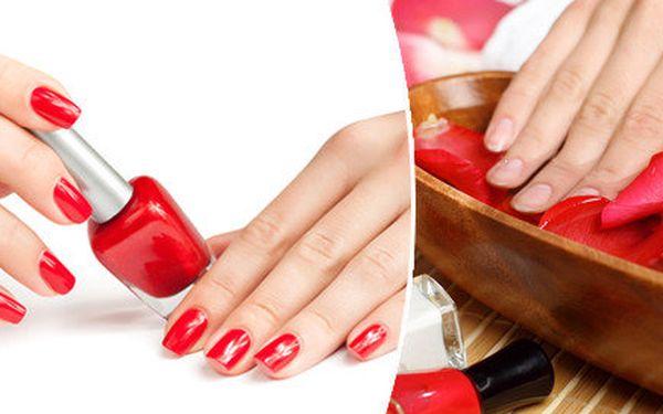 P-shine, manikúra s lakováním nebo bez - krásné a upravené nehty