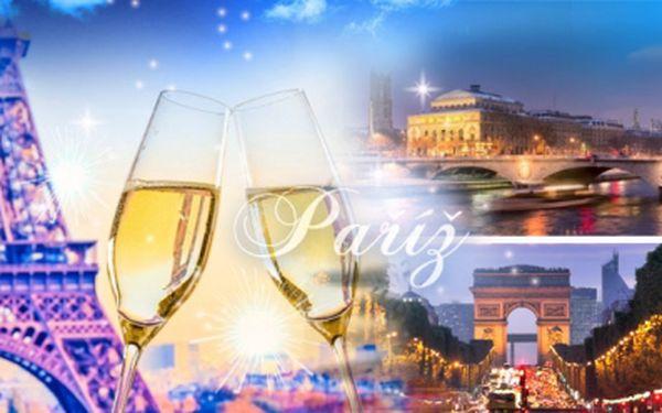 Silvestrovská Paříž v termínu 29.12.2014 - 1.1.2015! 4denní zájezd s dopravou, noclehem i průvodcem!