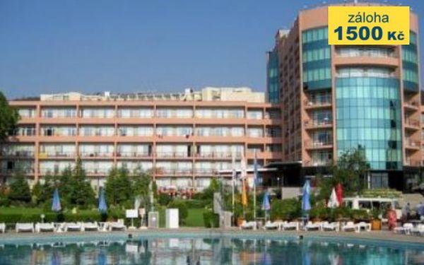 Bulharsko, oblast Zlaté Písky, letecky, polopenze, ubytování v 4* hotelu na 8 dní