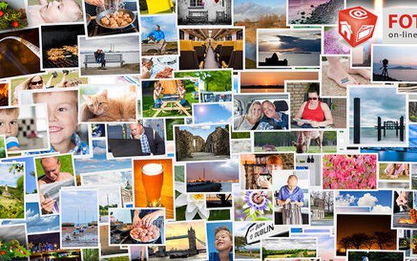 Vyvolání 100 fotek formátu 10×15 nebo 9×13 cm