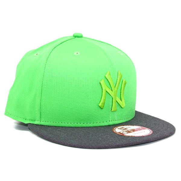 Kšiltovka New Era Pop Tonal New York Yankees Lime/Gray Snapback