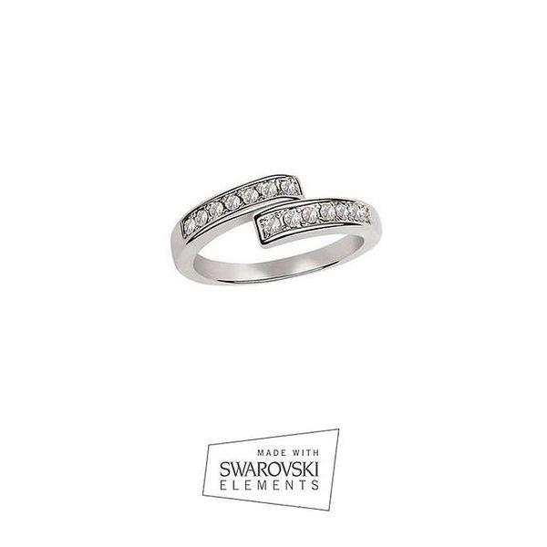 Dámský prsten s kamínky Swarovski Elements