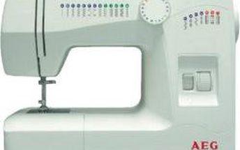Šicí stroj AEG 220 (10 let prodloužená záruka)
