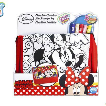 Color Me Mine 86204 - Messenger kabelka Minnie