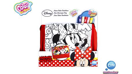 Color Me Mine 86204 - Messenger kabelka Minnie