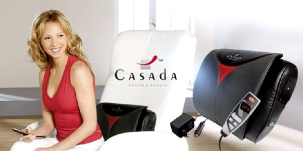 Kvalitní německé masážní přístroje - POLŠTÁŘEK a KŘESLO za neopakovatelnou cenu! Darujte relax a úlevu!