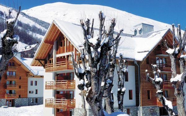 Francie, oblast Valmeinier / Valloire, bez stravy, ubytování v 3,5* hotelu na 8 dní
