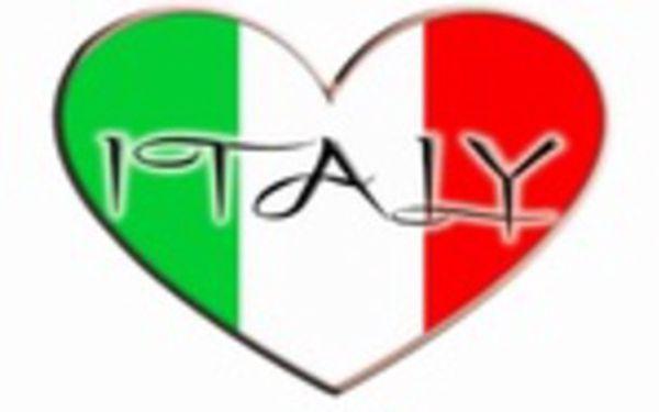 6 lekcí italštiny pro falešné začátečníky A0/A1 - pondělí 19:10-20:40