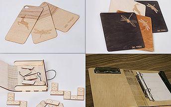 Dárek s nápadem - dřevěné výrobky s vlastním gravírováním