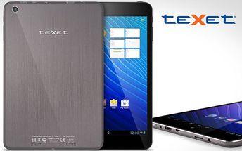 Ultratenký tablet Texet s Androidem + pouzdro s klávesnicí