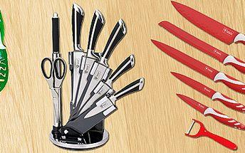 Exkluzivní sada nožů do vaší kuchyně: krájejte jako profesionál! Výběr ze 3 sad.