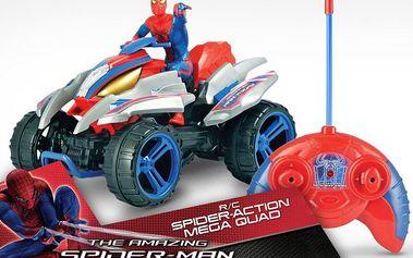 RC čtyřkolka Spiderman na ovládání