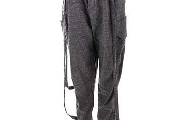 Dámské šedé volnější kalhoty Purple Jam